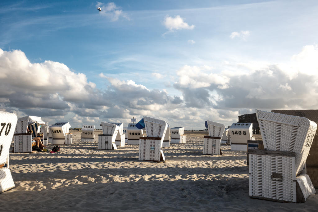 St. Peter Ording Strand und Meer